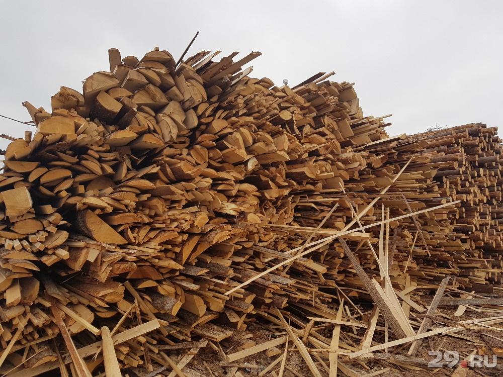 Классификация древесных отходов и технологии вторичной переработки - вторичное сырье