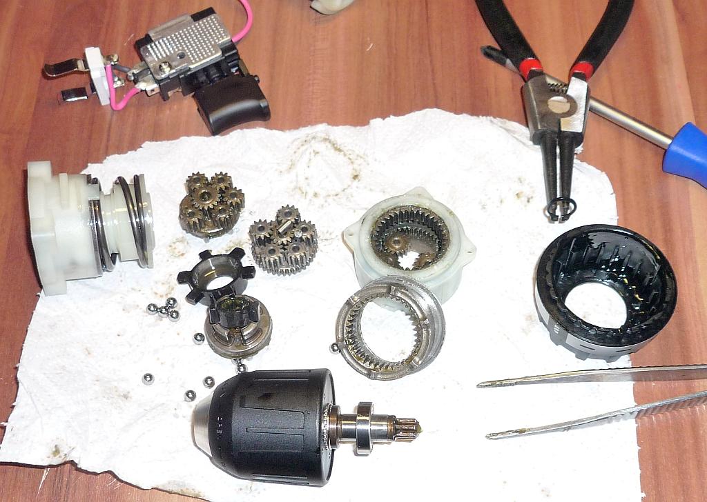 Как выполняется ремонт шуруповерта без помощи специалиста – мои инструменты