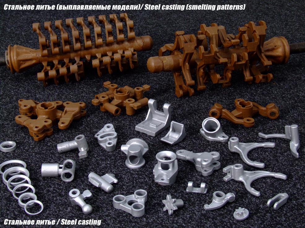 Литье металла по легко выплавляемым моделям (лвм)