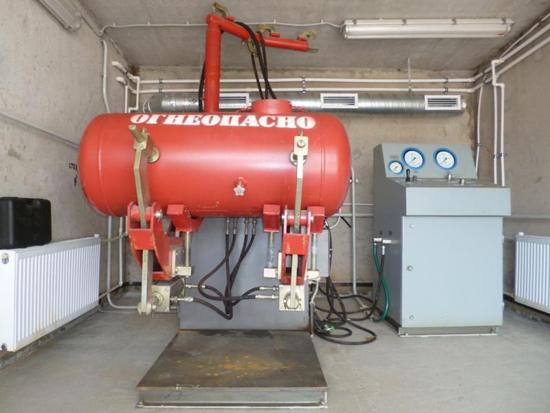 Освидетельствование баллонов: техническая проверка 40-литровых емкостей высокого давления, опрессовка метановых – сертификация и обучение на svarka.guru