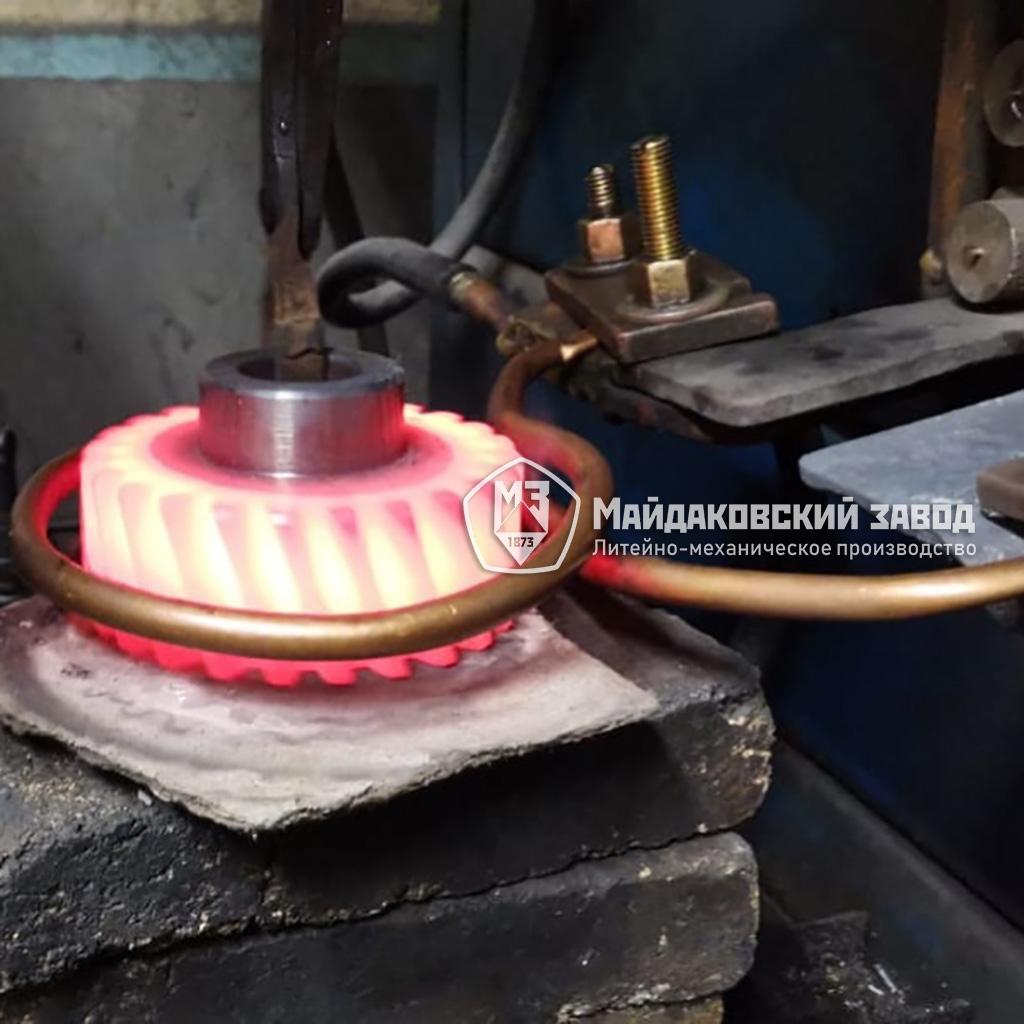 Что такое поверхностная закалка стали? для чего применяется поверхностная закалка?