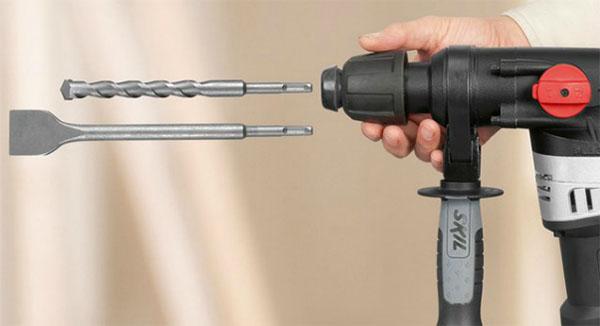 Сверла для перфоратора: сверлим бетон и металл правильно