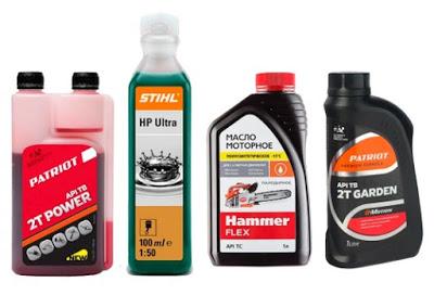 Масло для бензопилы: виды смазок, какой бензин можно использовать для stihl