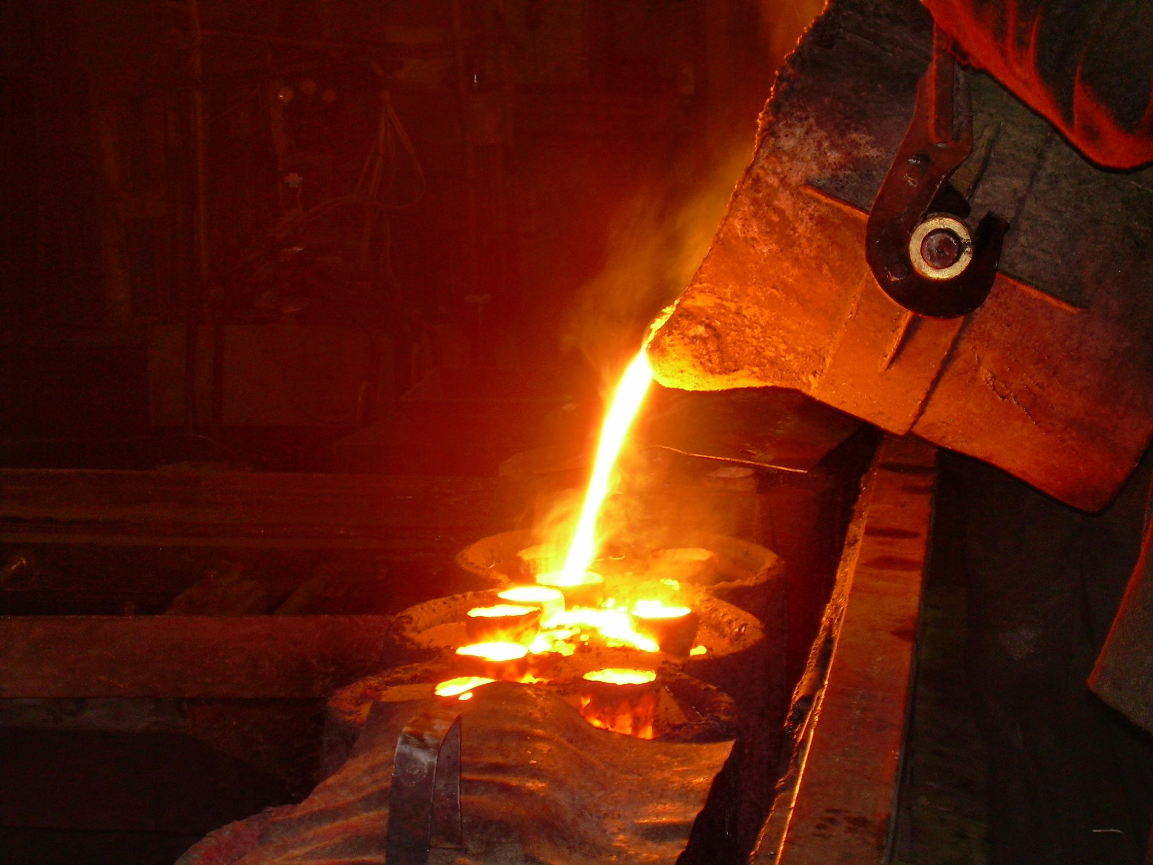Печи для литья чугуна - металлы и металлообработка
