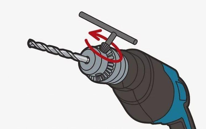 Как правильно вставить сверло в шуруповерт, перфоратор, дрель.