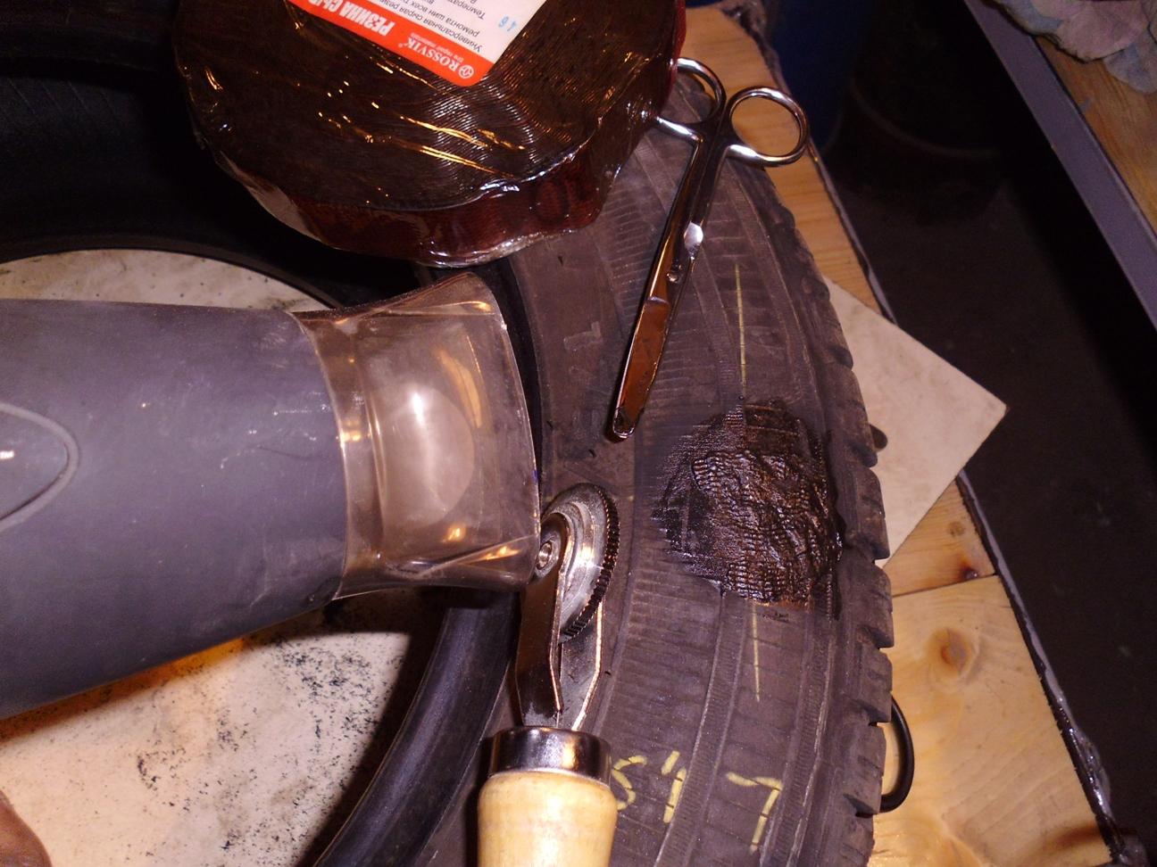 Вулканизация резины