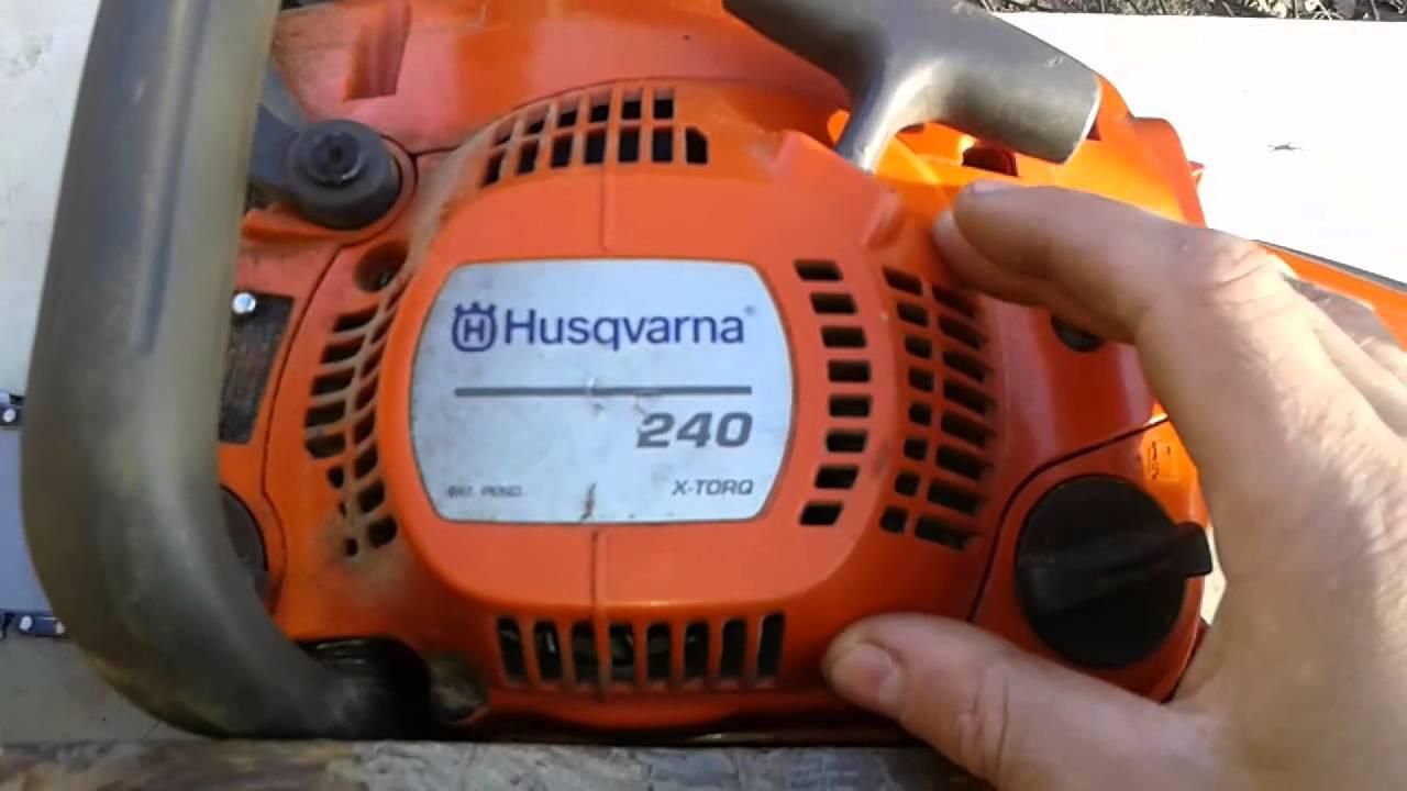 Бензопилы хускварна (husqvarna) 240: особенности, характеристики, регулировка
