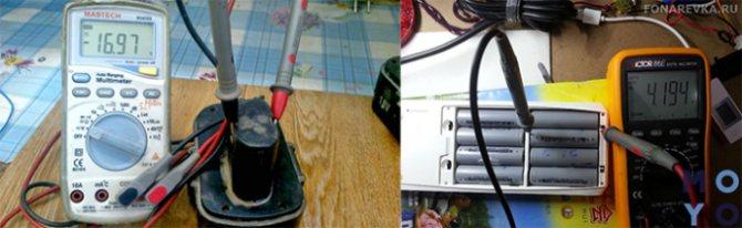 Проверка емкости аккумулятора 18650 мультиметром для определение работоспособности