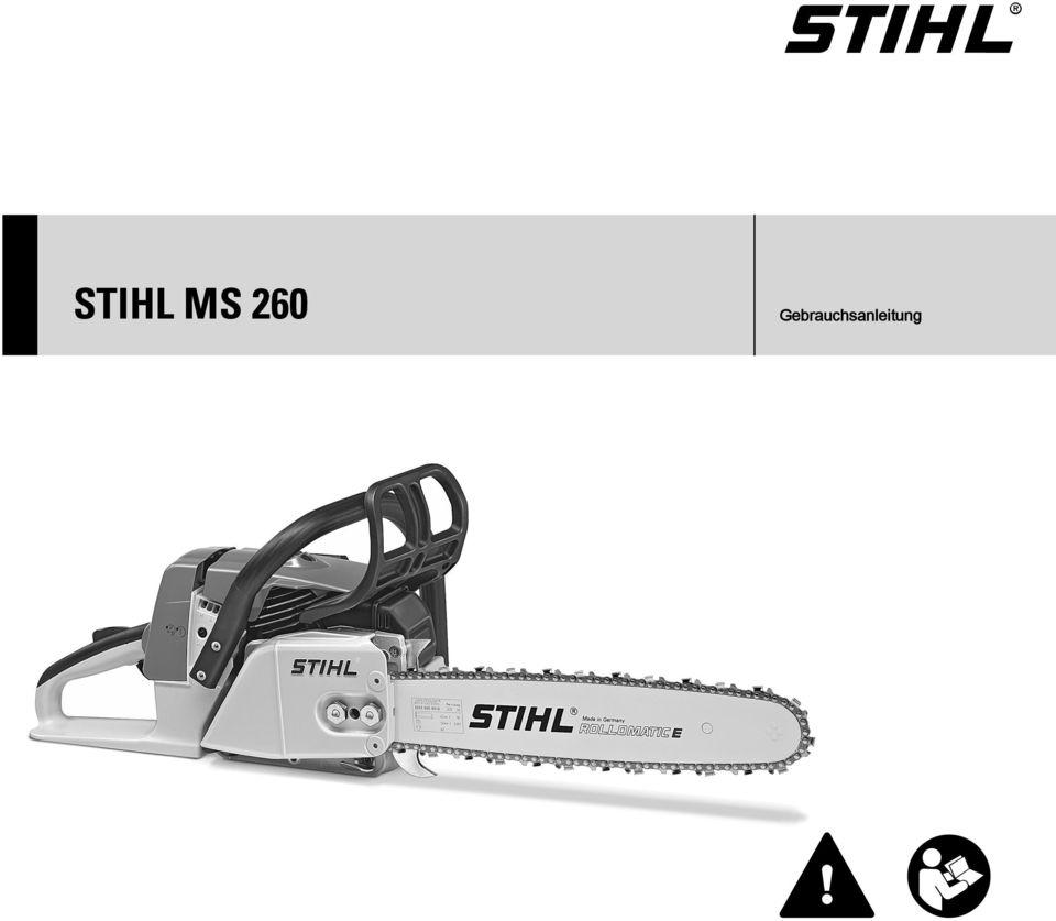 Бензопила stihl (штиль) ms 260 — устройство, неисправности, ремонт