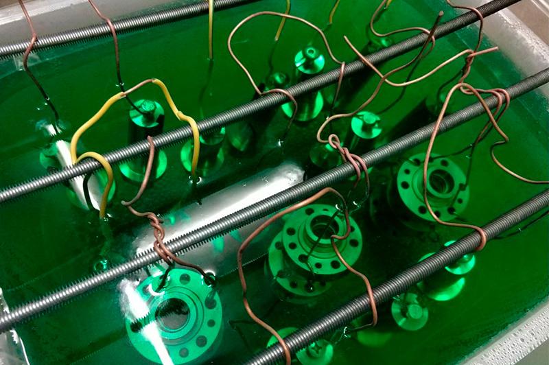 Восстановление хрома: этапы, оборудование и материалы