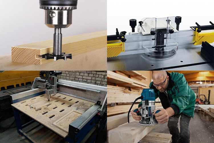 Основные правила работы фрезером по дереву для начинающих мастеров | папа мастер!