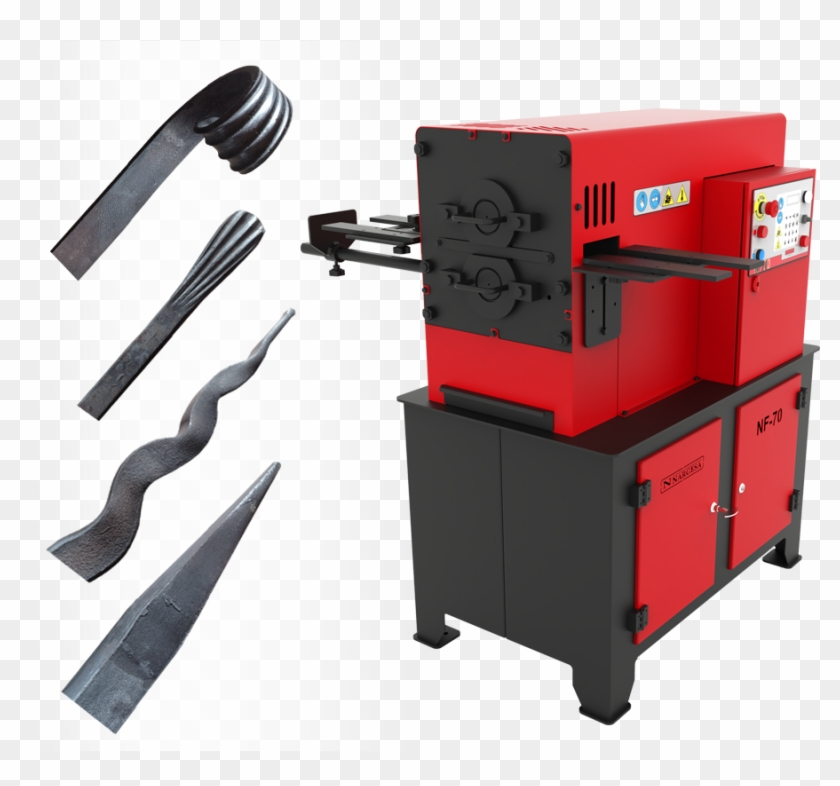 Какое оборудование применяют при горячей и холодной ковке?