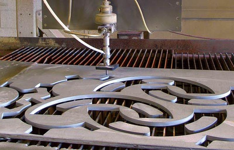 Устройство станка гидроабразивной резки