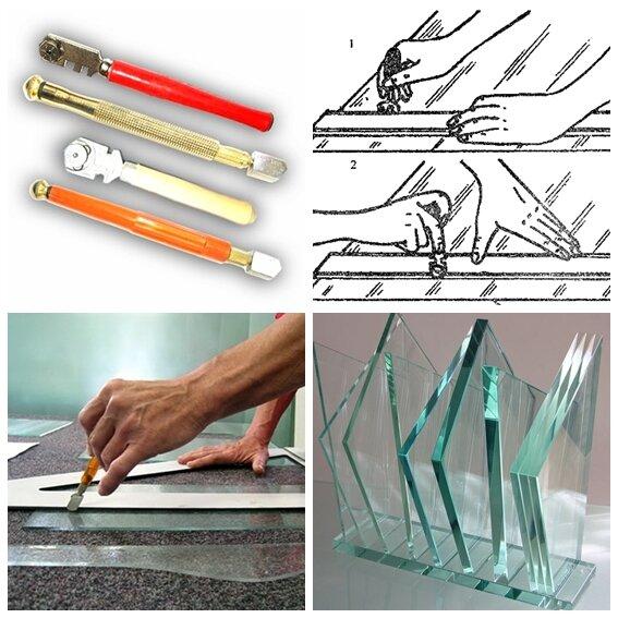 Как резать стекло правильно: учимся резке своими руками