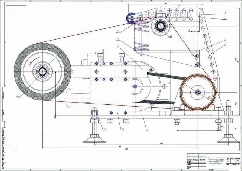 Гриндер своими руками — чертежи с размерами и алгоритм сборки