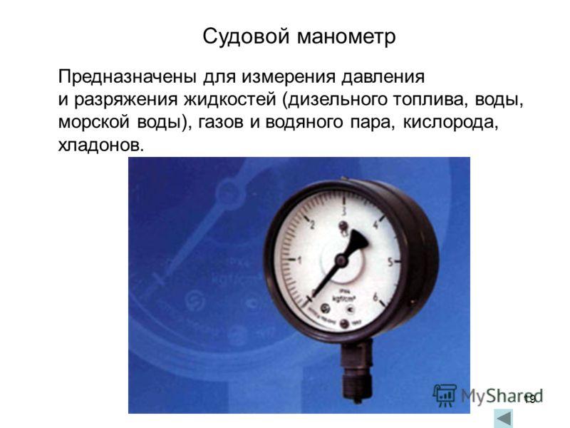 9.2. измерение давления газов, пара, жидкостей