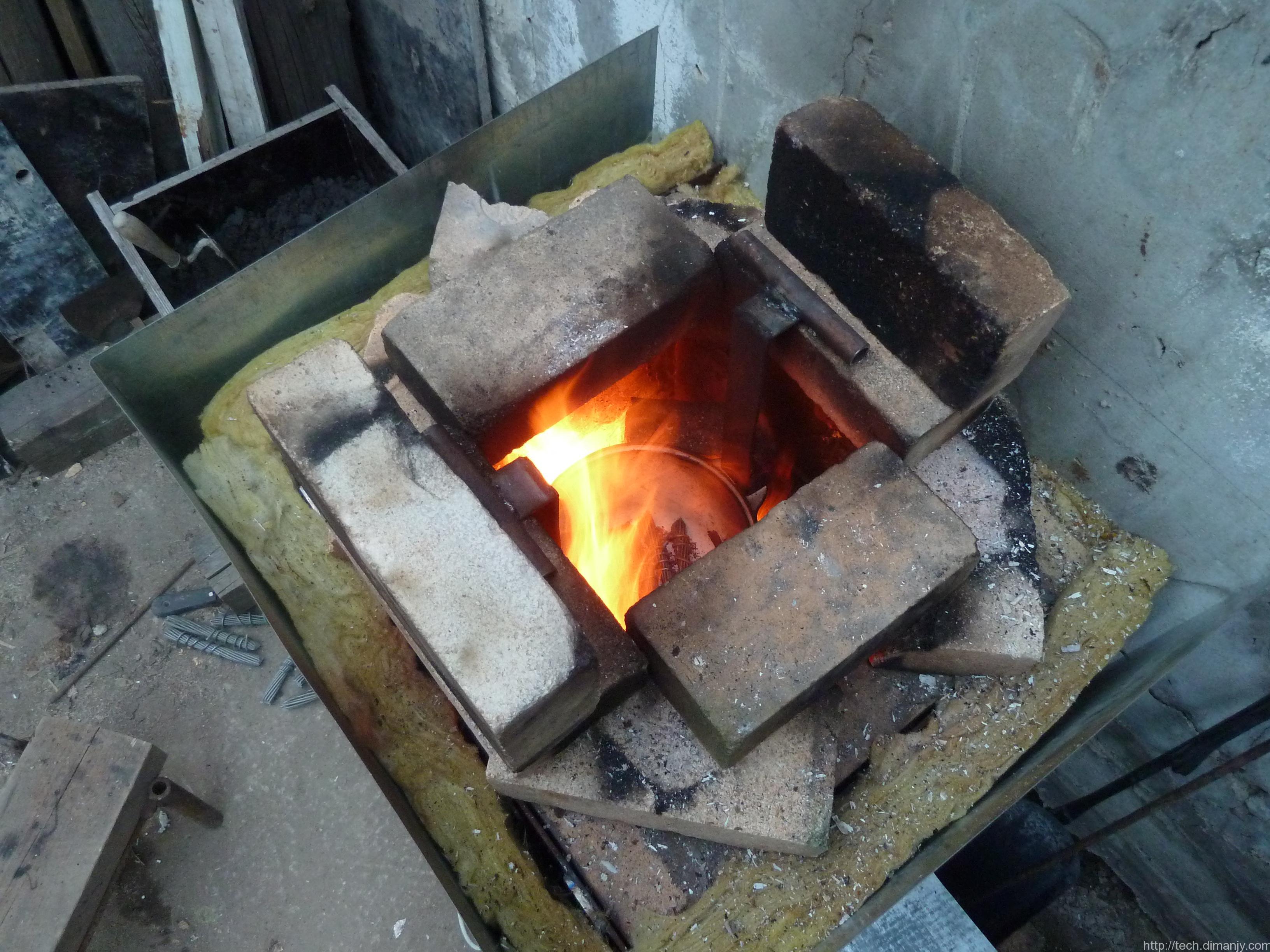 Как сделать печь для плавки и закалки металла своими руками