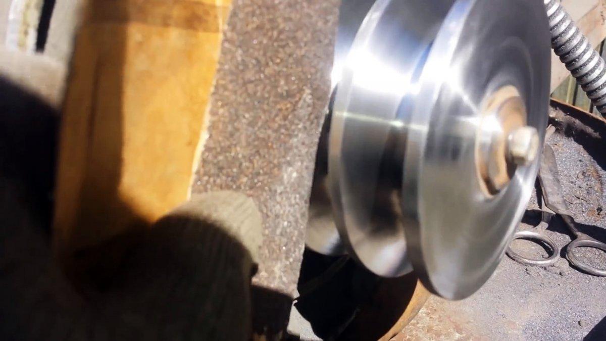 Как сделать дешевый шкив из фанеры своими руками