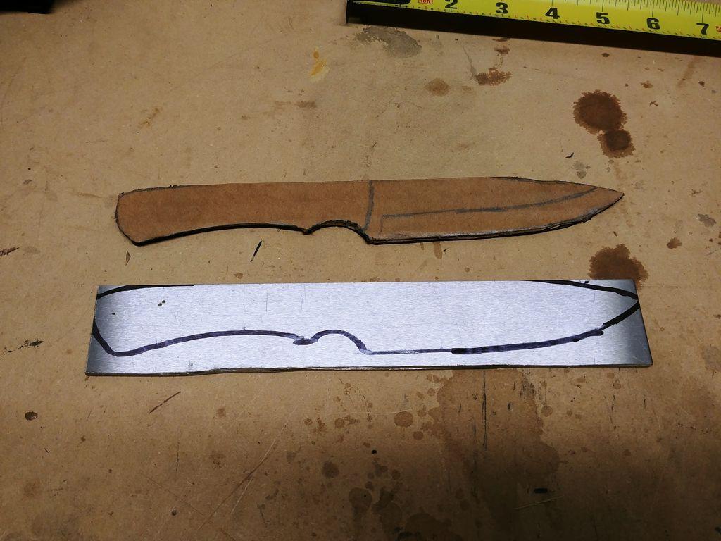 Нож из полотна механической пилы своими руками