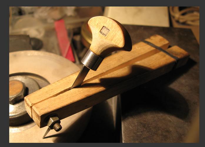 Изготовление штихелей своими руками