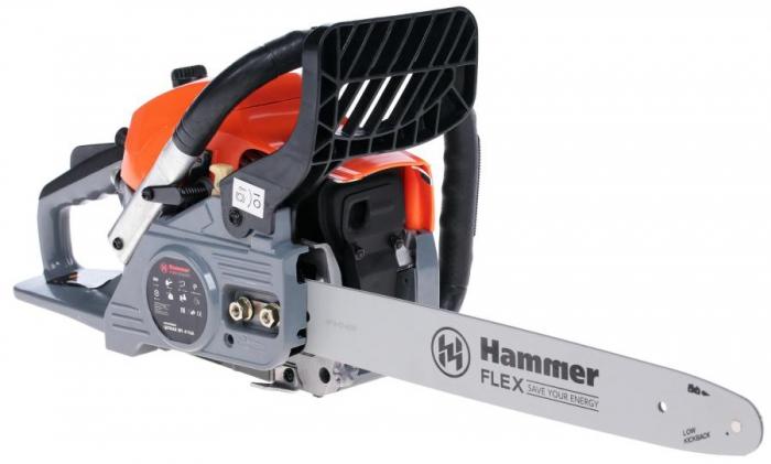 Бензопила hammerflex hammer flex bpl4116a