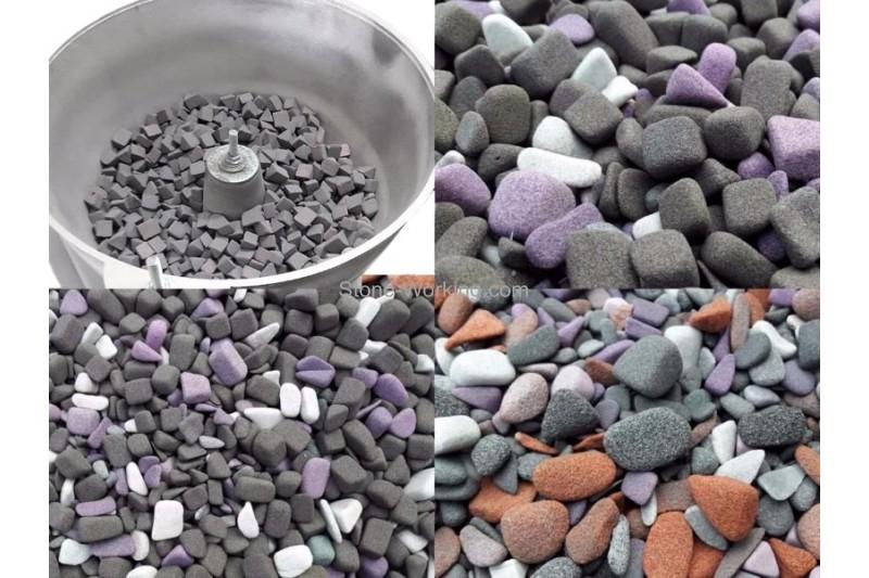 Галтовка камня: виды и оборудование для обеспечения технологии
