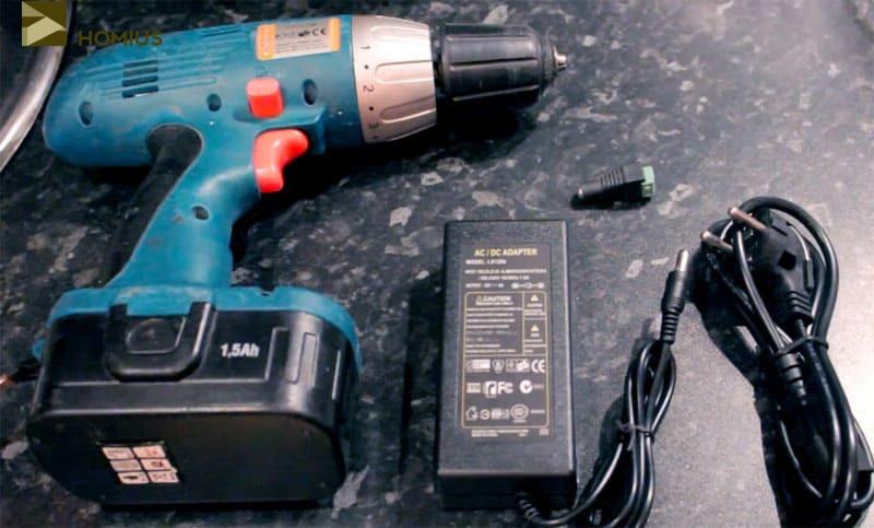 Переделка шуруповёрта на питание от сети: устройство прибора и способы ремонта