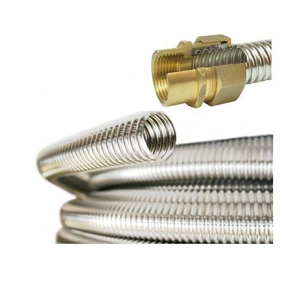 Фитинги для гофрированных труб из нержавеющей стали: характеристики изделий и их разновидности, установка и видео уроки
