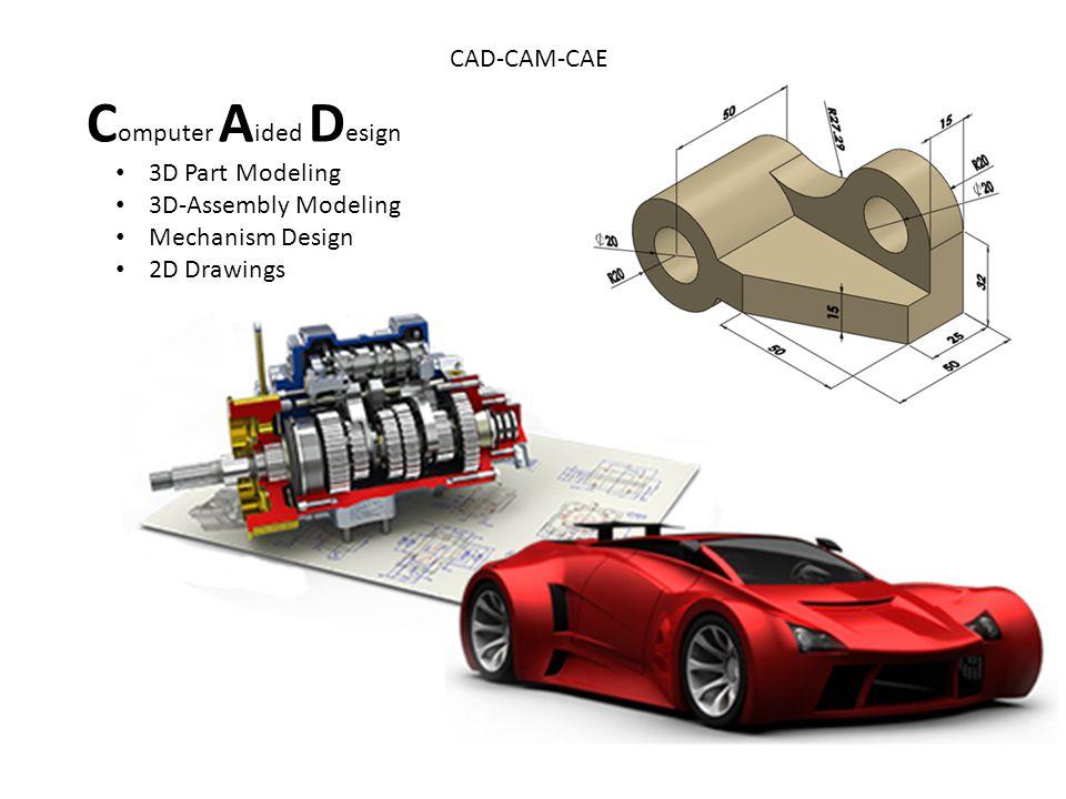 Общие сведения о cad/cam/cae-системах