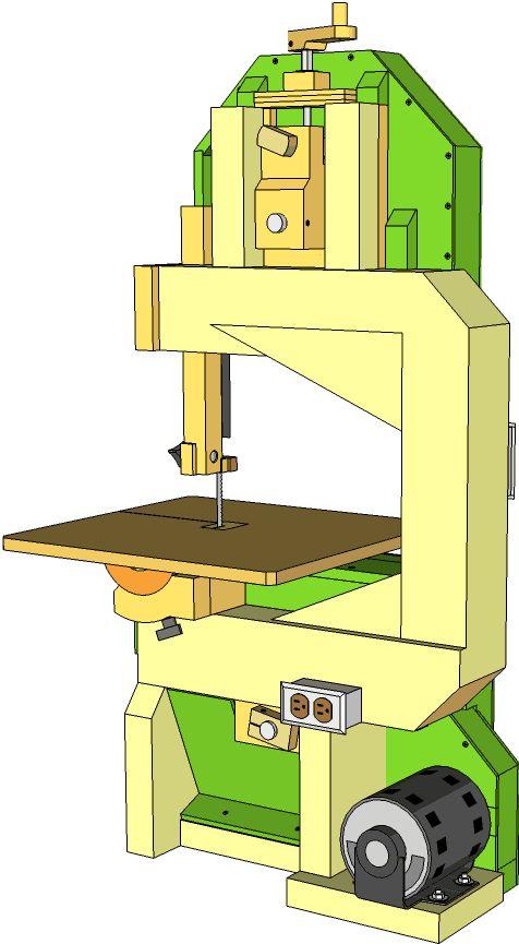 Самостоятельное изготовление ленточнопильного станка по дереву