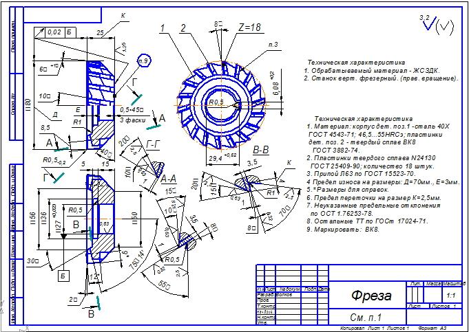 Гост 17025-71 фрезы концевые с цилиндрическим хвостовиком. конструкция и размеры - скачать бесплатно