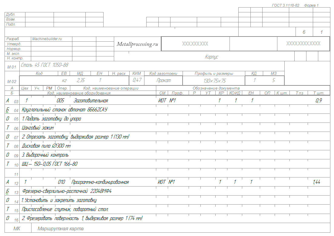 Гост 3.1118-82 единая система технологической документации (естд). формы и правила оформления маршрутных карт, гост от 30 декабря 1982 года №3.1118-82