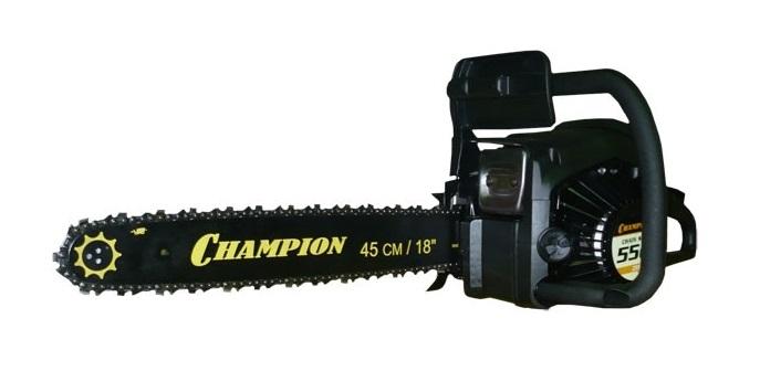 Обзор бензопилы champion 254-18. технические характеристики. обкатка двигателя
