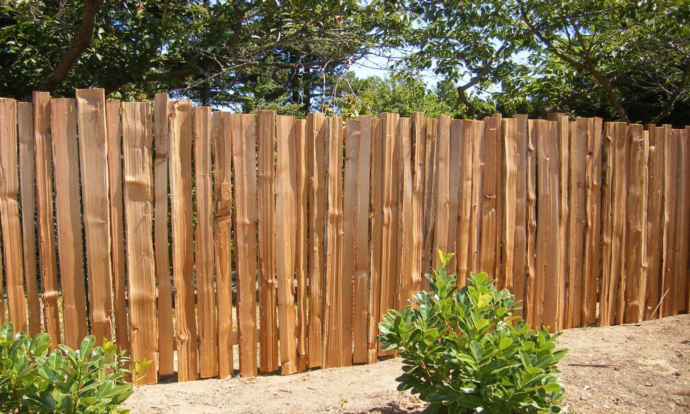 Забор из горбыля своими руками: фото и видео красивого забора