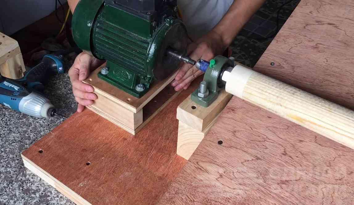 Шлифовальный станок по дереву своими руками - токарь
