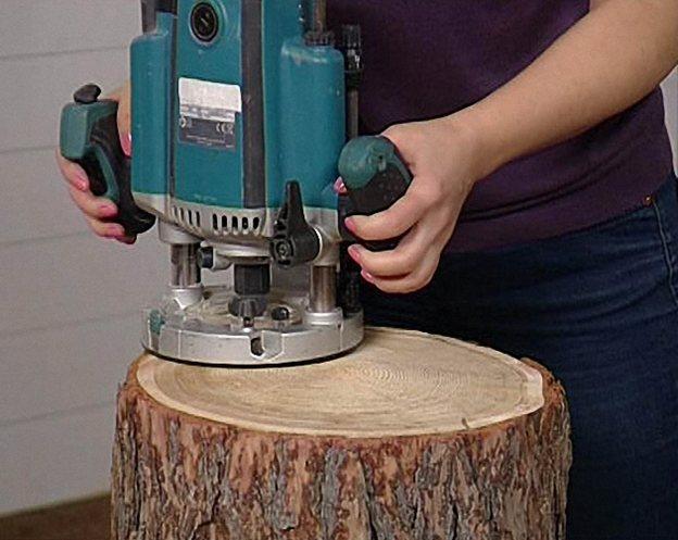 Работа ручным фрезером по дереву, примеры работы с фото