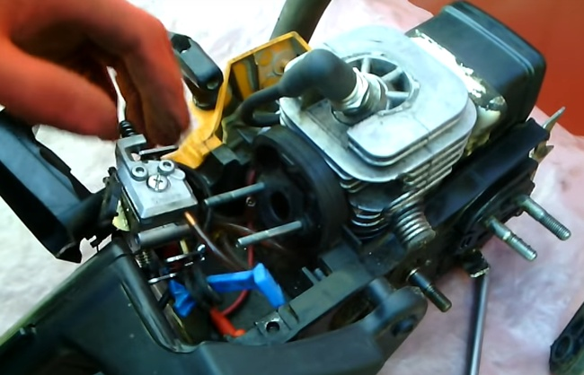 Карбюратор бензопилы partner 340s: устройство, регулировка, ремонт