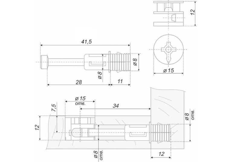 Эксцентриковая стяжка: инструкция по применению, варианты использования, перечень необходимого инструмента