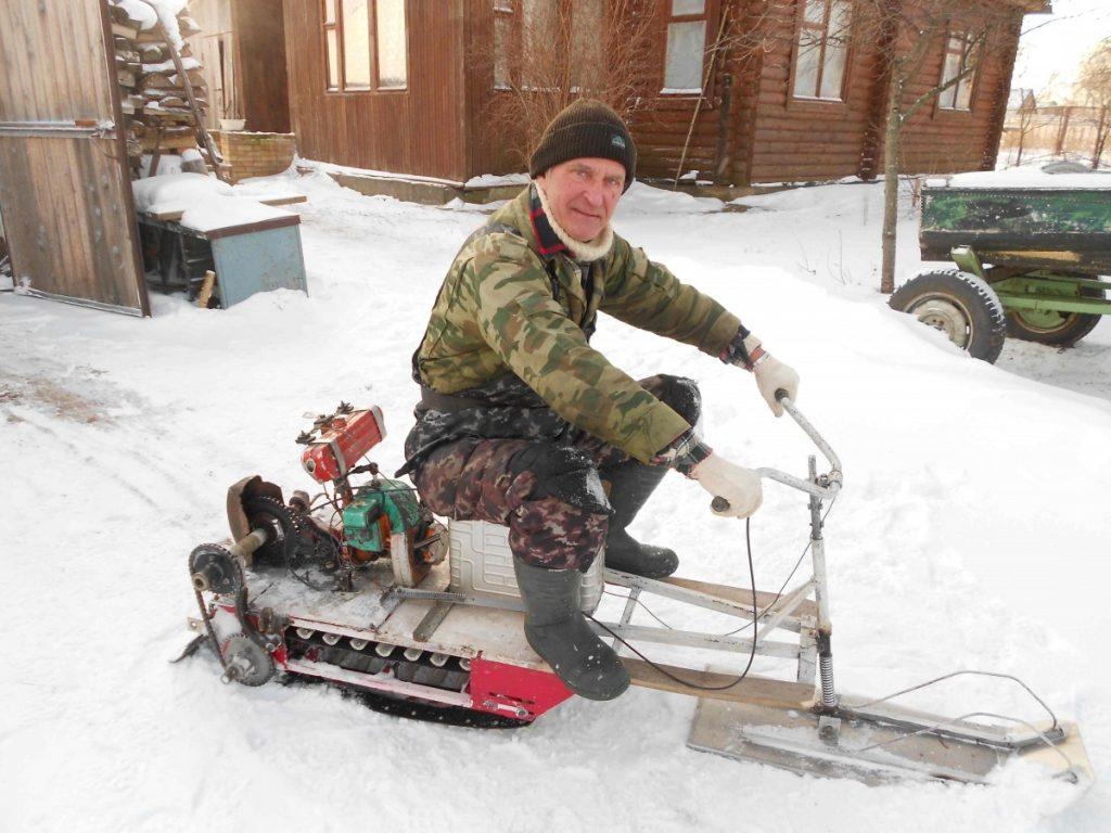 Снегоход из бензопилы дружба: все что нужно знать для изготовления