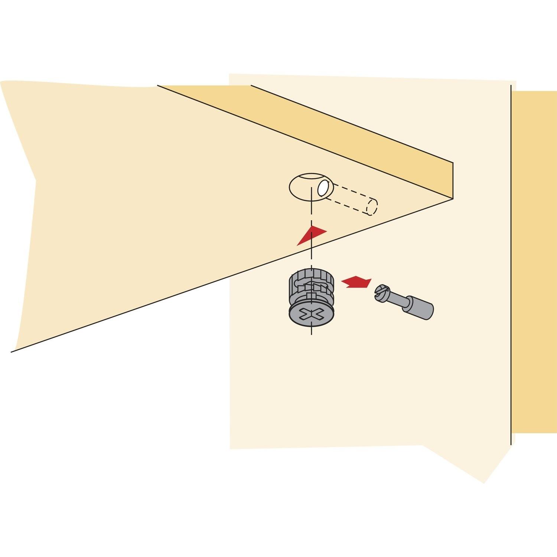 Эксцентриковая стяжка - особенности применения