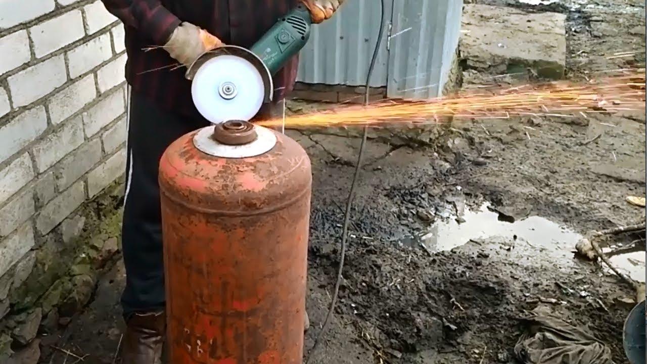 Минусы мангала из газового баллона