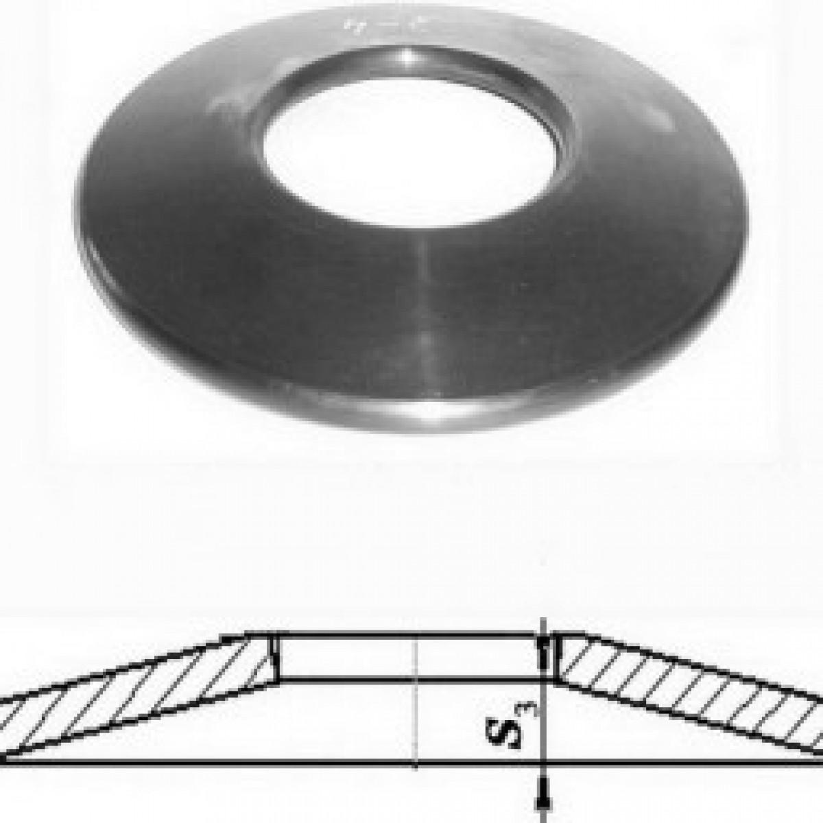 Тарельчатая пружина: гост, расчет, изготовление - токарь