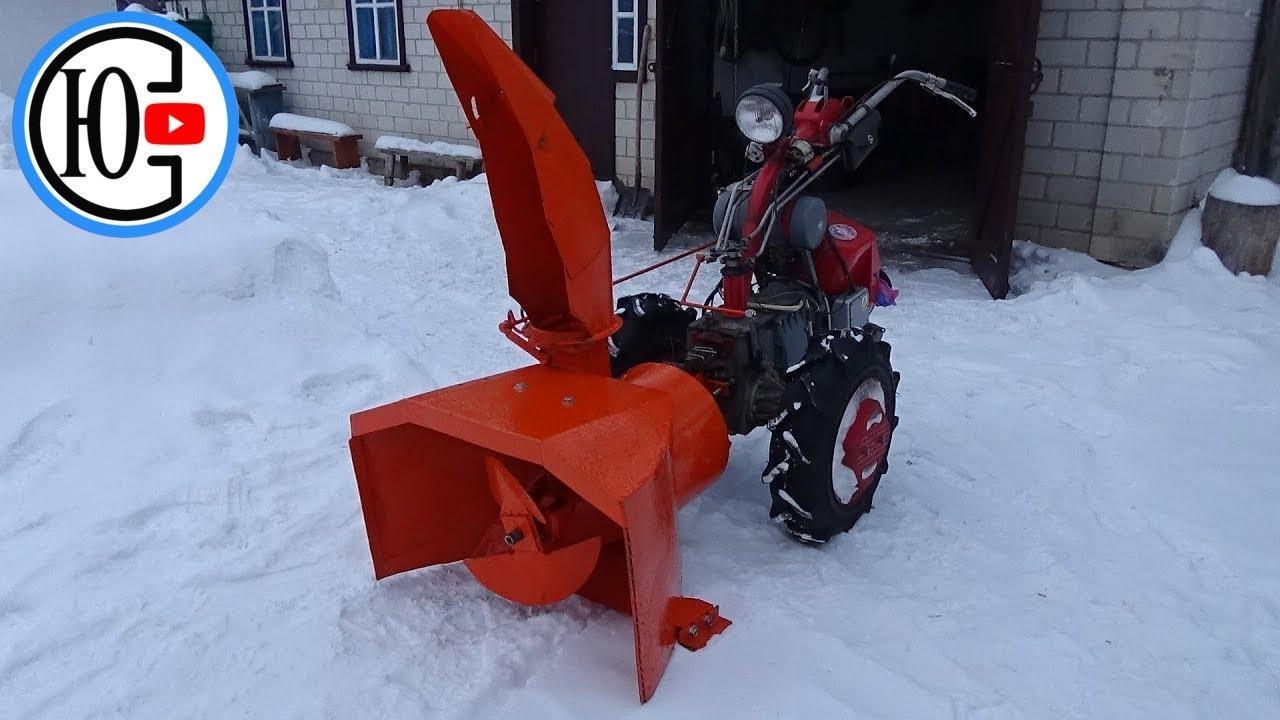 Снегоуборщик нева: приставка и снегоуборочная насадка к мотоблоку - снегоочиститель
