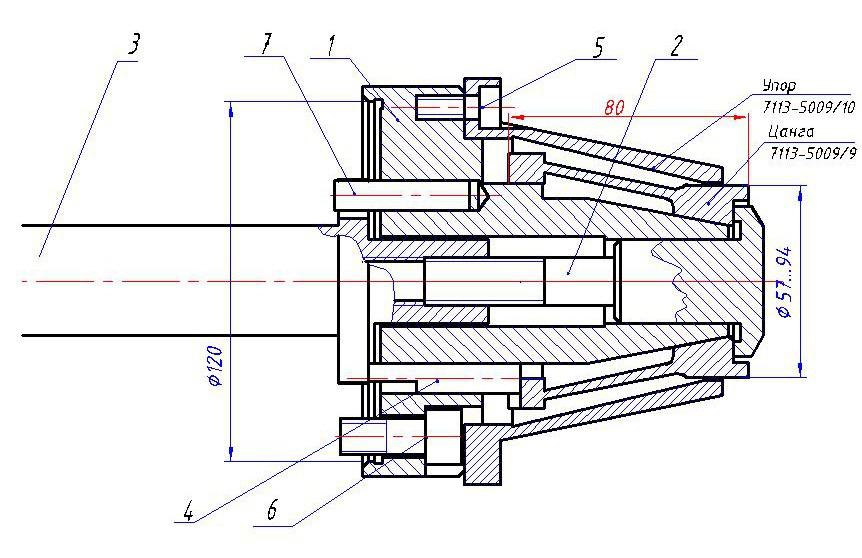 Цанговый патрон своими руками: комплектующие и порядок изготовления