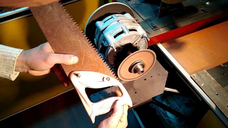 Как правильно заточить и развести пилу - металлы и их обработка. двуручная пила применение и инструкция по заточке