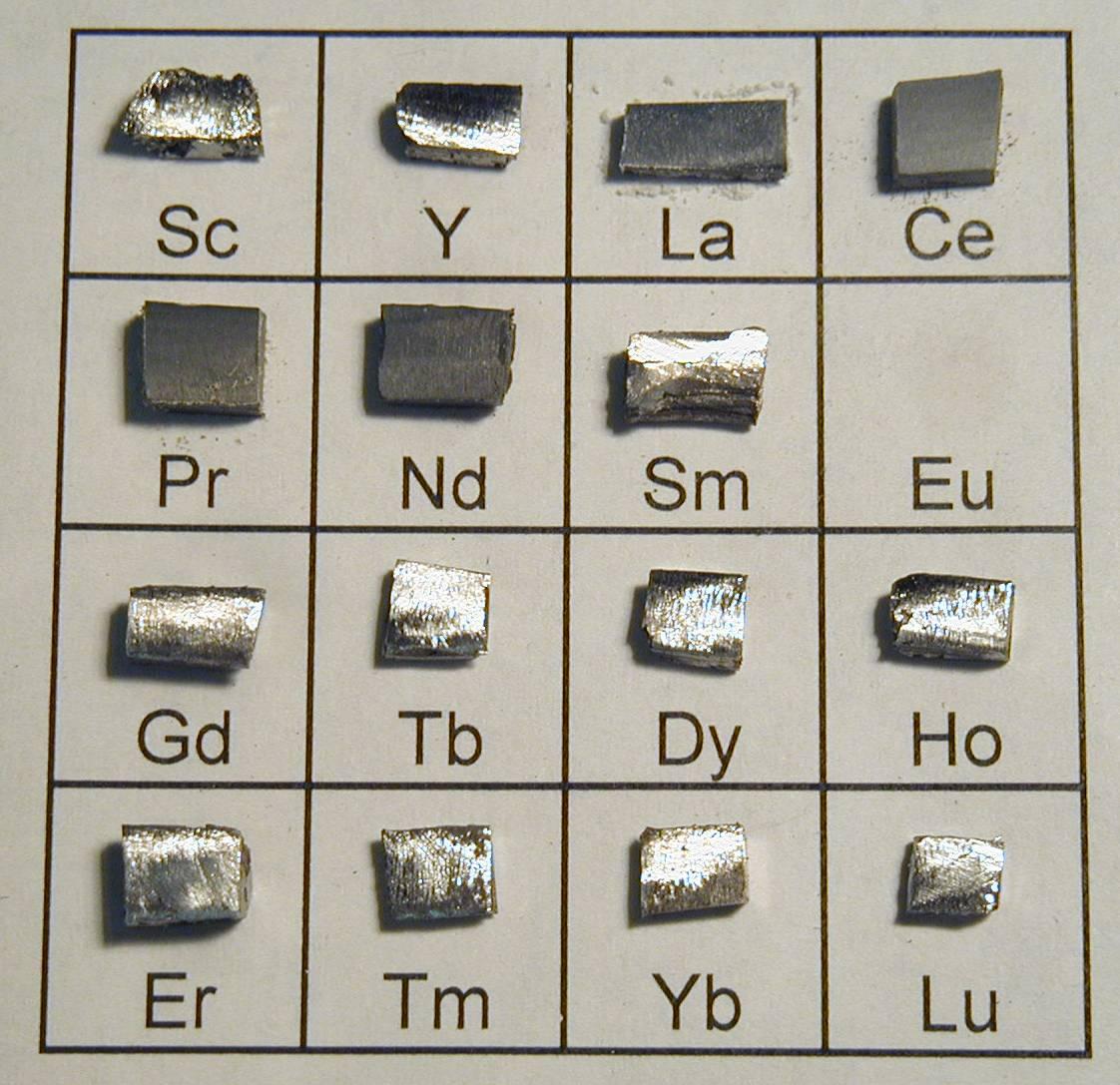 Редкоземельные элементы — википедия