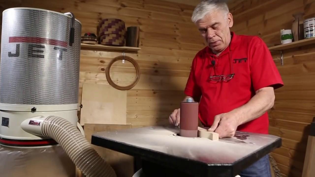 Осцилляционный шпиндельный шлифовальный станок своими руками - о металле