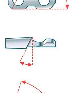 Углы заточки цепи бензопилы таблица