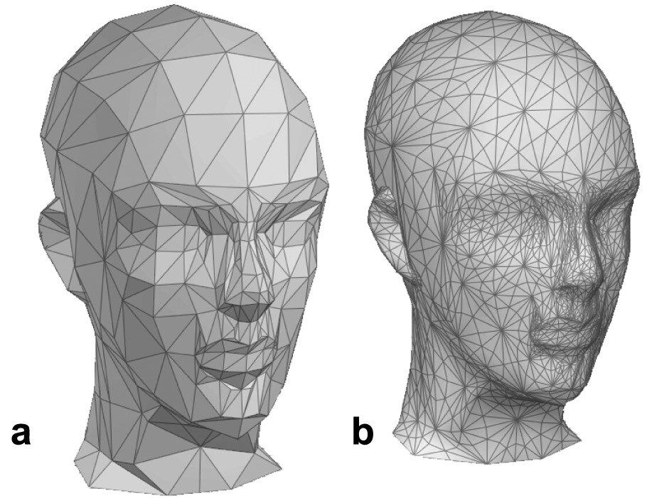 Полигональные фигуры, модели, схемы, развёртки, программа создания из бумаги, металла и пластика масок и скульптур