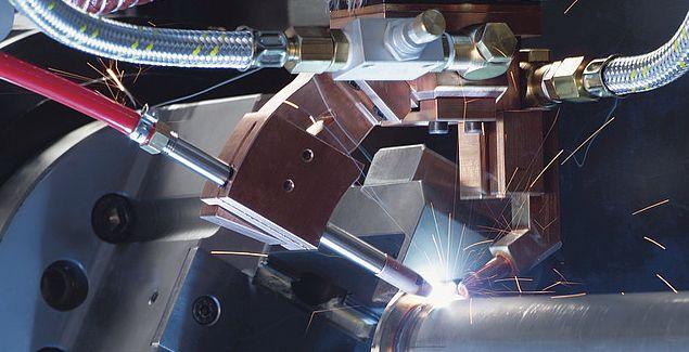 Применение лазера для сварки
